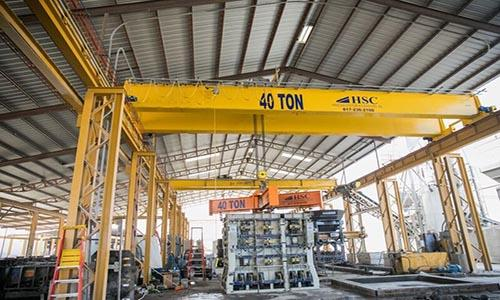 Double Girder Cranes Handling Systems And Conveyors Inc