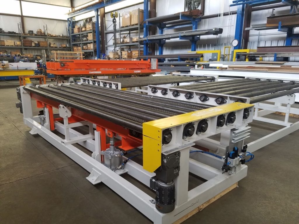 3 strand chain conveyor